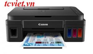 Máy in phun màu Canon Pixma G3010 (in/ scan/ copy/ wifi)